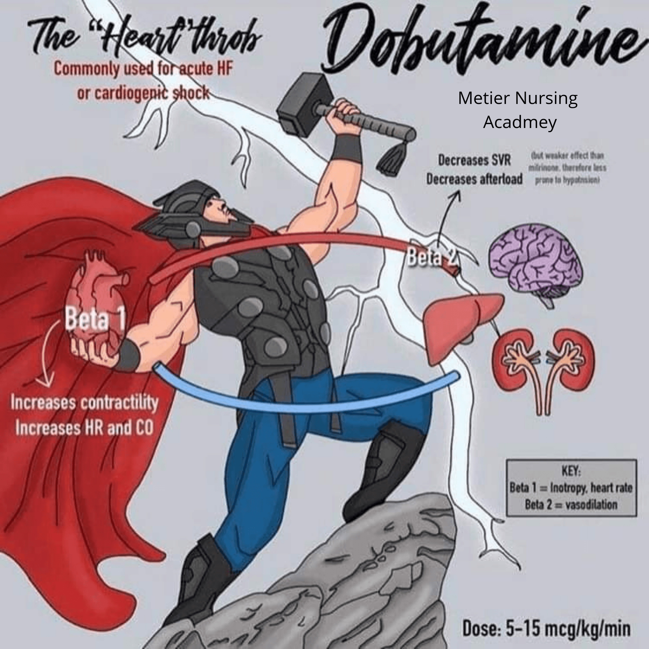 Dobutaminic super hero
