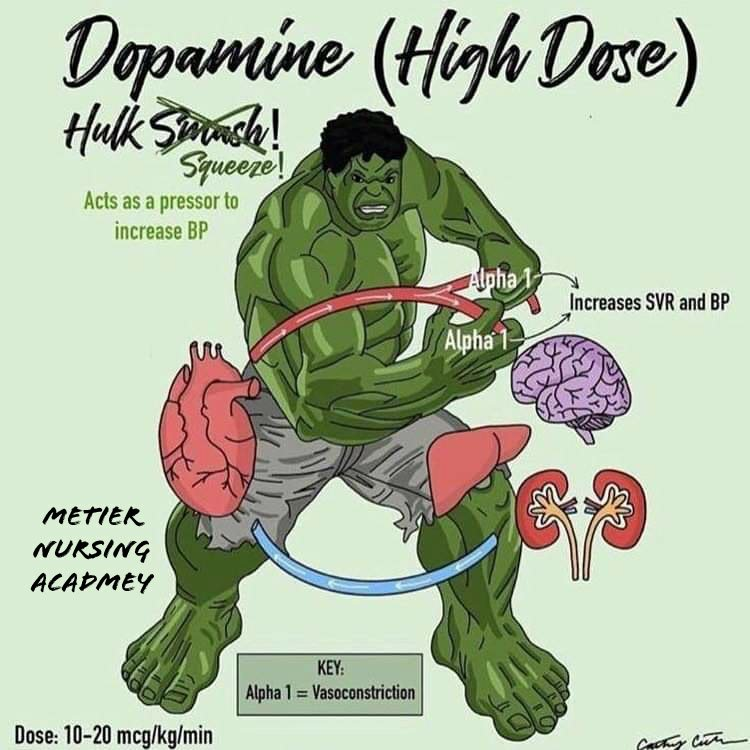 Dopamine super hero high